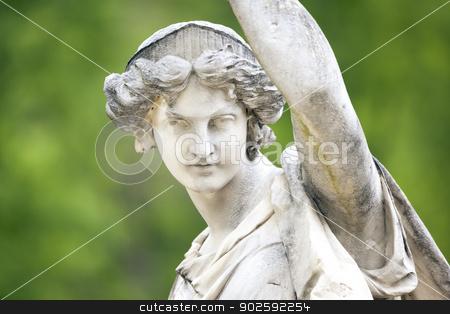 woman sculpture stock photo, An image of a nice woman sculpture by Markus Gann