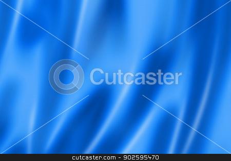 Blue satin texture stock photo, Blue satin, silk, texture background by Laurent Davoust