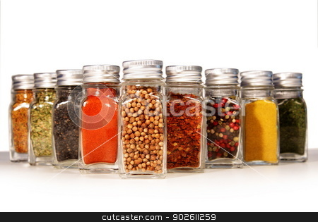 Various spices  stock photo, Various spices  by photomyheart