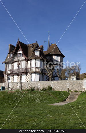 House of Les Andelys, Haute Normandie, France stock photo, House of Les Andelys, Haute Normandie, France by B.F.