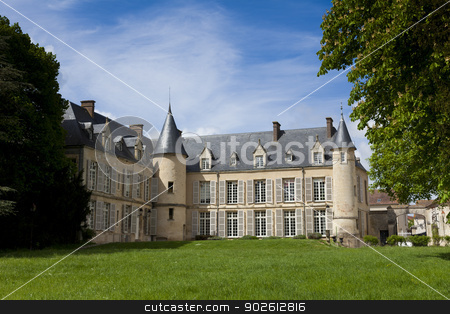 Castle of Themericourt, Val d'oise, Ile de France, France stock photo, Castle of Themericourt, Val d'oise, Ile de France, France by B.F.