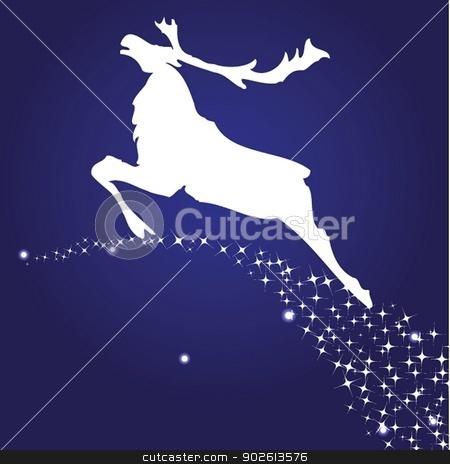 Christmas deer stock photo, Christmas deer by Maria Cherevan
