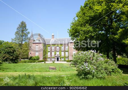 caste of Zuylen in Oud Zuilen stock photo, caste of Zuylen in Oud Zuilen in spring by anton havelaar