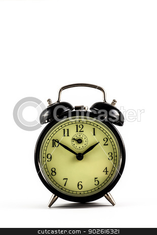 Old Clock stock photo, Detail of a used mechanical clock, very flexible concept by Paolo Gallo