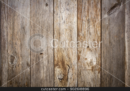 grunge weathered barn wood stock photo, grunge weathered barn wood background with knots and nail holes by Marek Uliasz