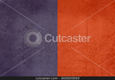 Grunge flag of Cagliari in Italy stock photo, Grunge flag of the Cagliari region in Italy by Martin Crowdy