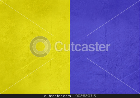 Grunge Modena flag stock photo, Illustrated abstract grunge flag of Modena region of Italy  by Martin Crowdy