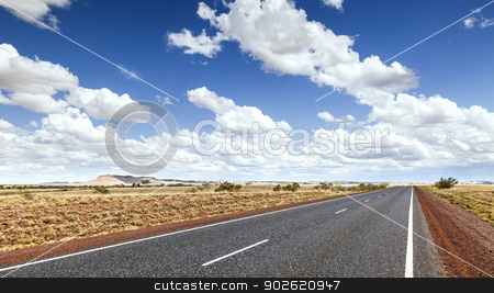 road to horizon stock photo, An image of a nice road to the horizon by Markus Gann