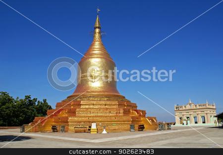 Lawkananda Pagoda, Bagan, Myanmar stock photo, Old Lawkananda Pagoda, Bagan, Myanmar, Asia  by Alexander Ludwig