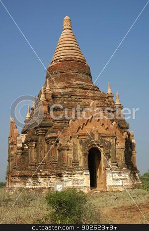 Ruins of Bagan, Myanmar, Asia stock photo, Ancient ruins field of Bagan, Myanmar, Southeast Asia         by Alexander Ludwig