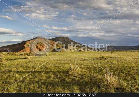 mountain ranch stock photo, mountain ranch landscape in Colorado - Red Mountain Open Space by Marek Uliasz