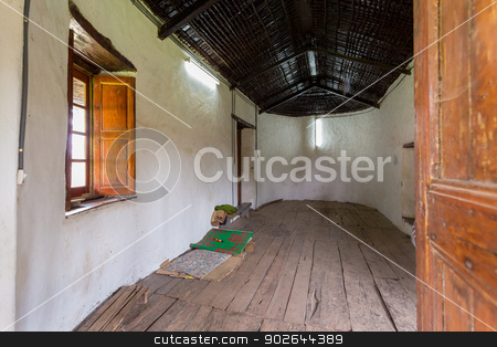 The Royal Bedroom stock photo, Emperor Menelik and Empress Taitu's bedroom in the Palace-Elfign by derejeb