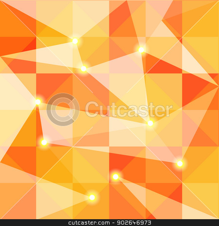 Abstract Colorful Polygon Background stock vector clipart, Abstract Colorful Polygon Background Wallpaper by meikis