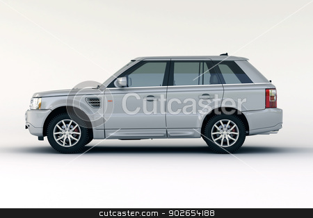 Luxury car in the studio stock photo, Luxury car in the studio on a light background by Alex Varlakov