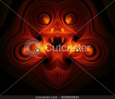 Brain teaser. Computer generated fractal artwork. stock photo, Computer generated fractal artwork. by Maria Repkova