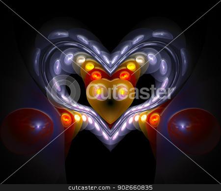 Dotted. Computer generated fractal artwork. stock photo, Computer generated fractal artwork. by Maria Repkova