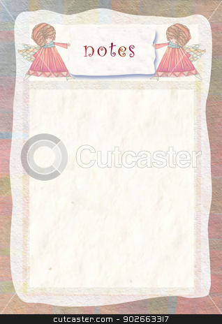 background with space for shopping list stock photo, background with space for text by Vita Masi