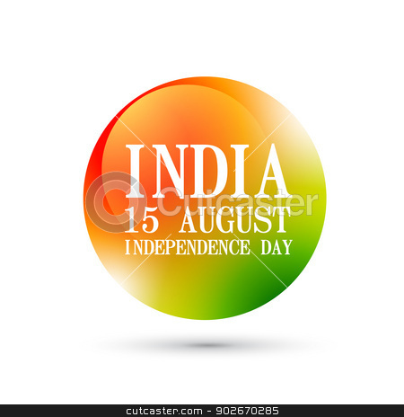 indian independence day stock vector clipart, indian independence day vector design by pinnacleanimates