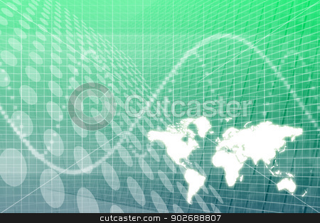 Global Business Abstract Background stock photo, A Global Business Abstract Background Pattern Texture by Kheng Ho Toh
