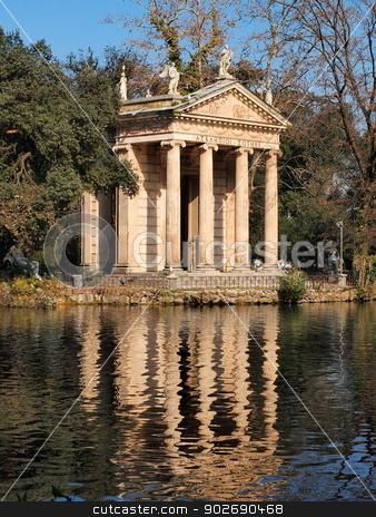 Villa Borghese Garden, Rome, Italy stock photo, Villa Borghese Garden in Rome, Lazio,  Italy by Karol Kozlowski