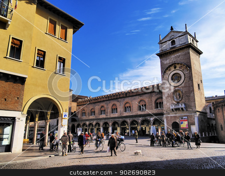 Mantua stock photo, View of Mantua - city in Lombardy, Italy by Karol Kozlowski