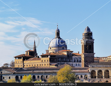 Mantua in Italy stock photo, Cityscape of Mantova -  Mantua, city in Lombardy, Italy by Karol Kozlowski