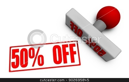 50% Off  stock photo, 50% Off Discount or Sale on Offer For Sale by Kheng Ho Toh