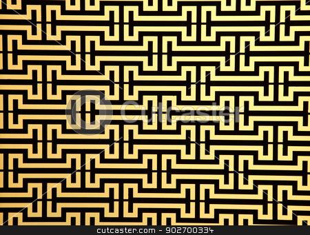 pattern of steel rod windows frame on yellow stock photo, pattern of steel rod windows frame on yellow by Vichaya Kiatying-Angsulee