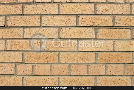 Textured brick wall background stock photo, Abstract background of brick wall building. by Martin Crowdy