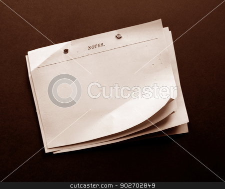 Old Paper stock photo, Close up of  Old Paper for Background by Janaka Dharmasena