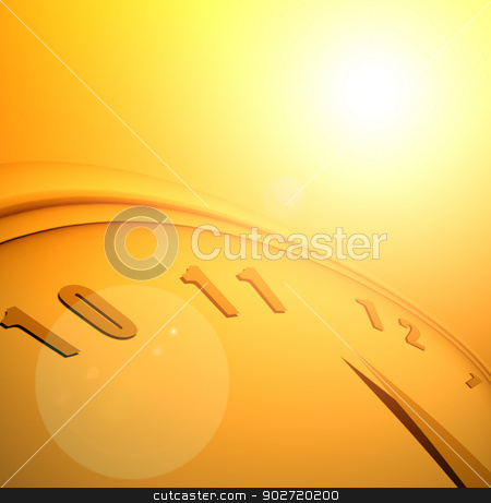 Time & space stock photo, Close up of clock and time concept by Janaka Dharmasena