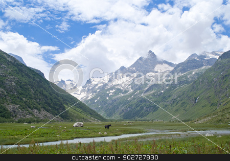 Beautifull mountain landskape stock photo, Beautifull mountain landskape by Alexey Kozak