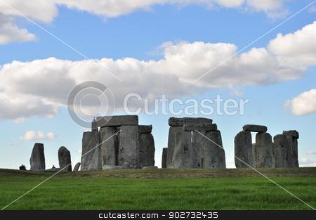 Stonehenge stock photo, Stonehenge near Amesbury England by Stephen Inglis