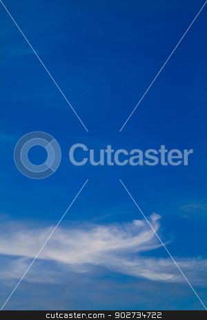 blue sky stock photo, blue sky by budastock