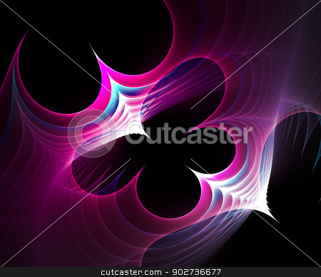 Computer generated fractal artwork stock photo, Originally created computer fractal artwork for design needs by Maria Repkova