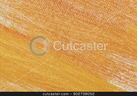 orange abstract on artist canvas stock photo, macro background texture of artist canvas painted orange and yellow by Marek Uliasz