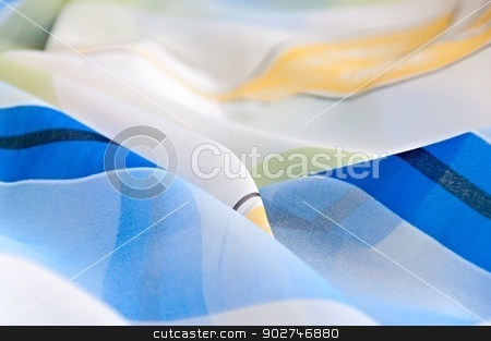 Textile Background stock photo, Abstract textile background fabric. by benjaminlion