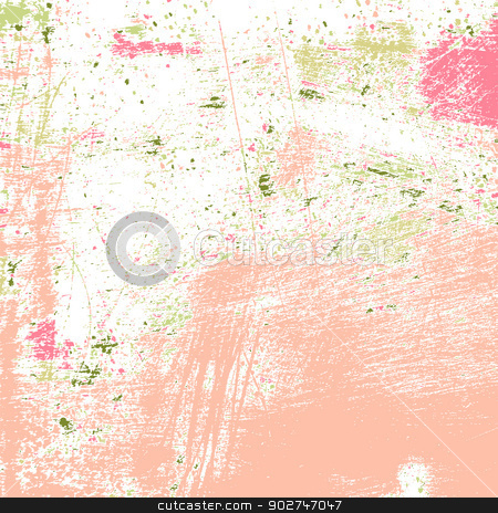 Grunge Painted Texture stock vector clipart, Abstract grunge painted texture. EPS10 vector illustration. by benjaminlion