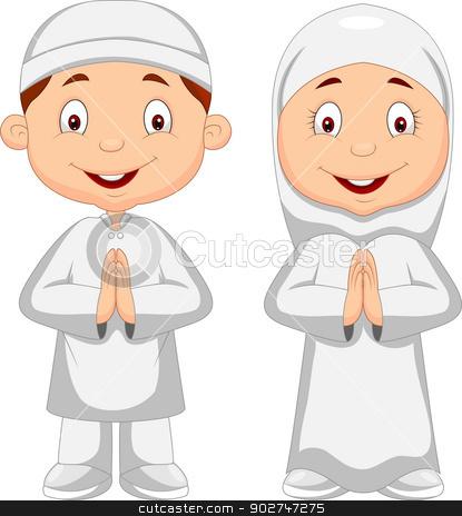 Muslim kid cartoon sto...
