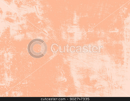 Peach Grunge Texture stock vector clipart, Abstract texture - old scratched wall in a peach color. EPS10 vector illustration. by benjaminlion