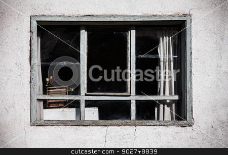 Turkish Window stock photo, Window on an upper flat in Turkish city by Scott Griessel
