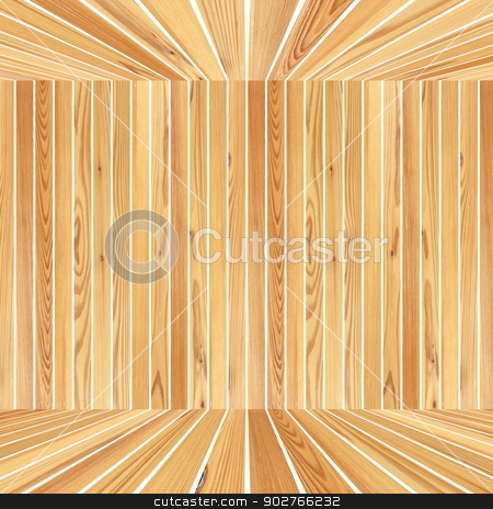abstract wooden structure stock photo, abstract wooden structure formed by planks over white by coroiu octavian