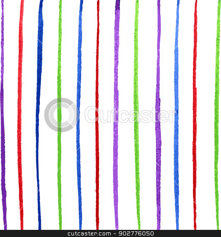 Colorful line stock vector clipart, Vector illustration of Colorful line by SonneOn