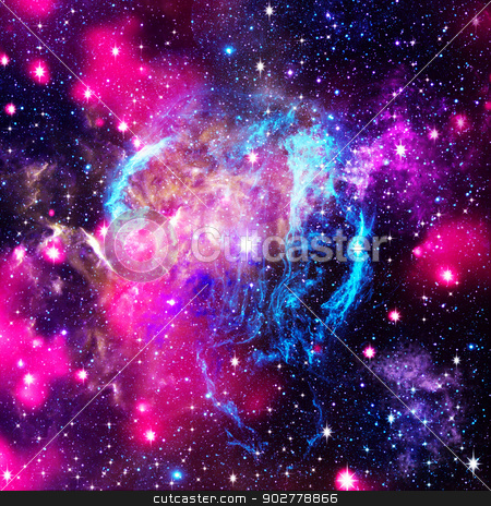 Deep space. Abstract natural backgrounds stock photo, Deep space. Abstract natural backgrounds by tolokonov