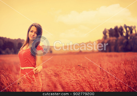 What Dreams May Come. Rural female portrait stock photo, What Dreams May Come. Rural female portrait by tolokonov
