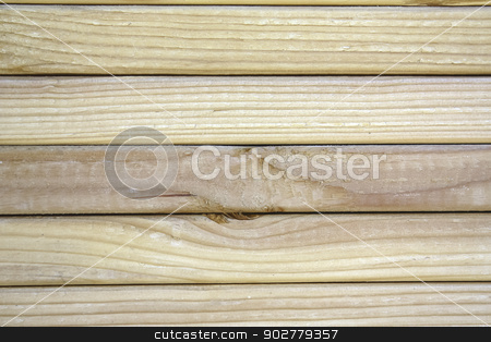 Close-up of grain on stacked lumber. stock photo, Close-up of grain on stacked lumber by Gregory Dean