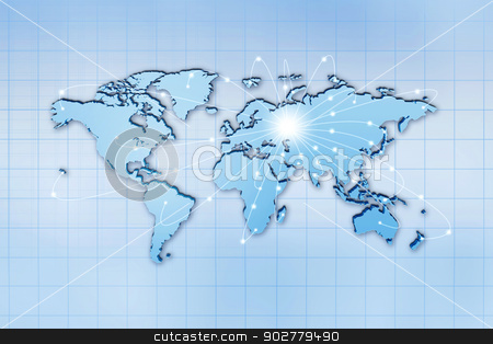 Global traffic and comminications concept, abstract backgrounds stock photo, Global traffic and comminications concept, abstract backgrounds by tolokonov