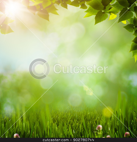 Abstract natural backgrounds with beauty bokeh stock photo, Abstract natural backgrounds with beauty bokeh by tolokonov