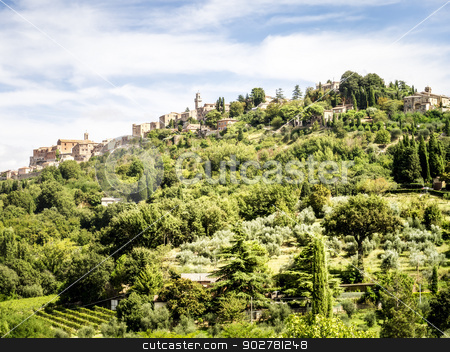 Tuscany stock photo, An image of a Tuscany landscape in Italy by Markus Gann