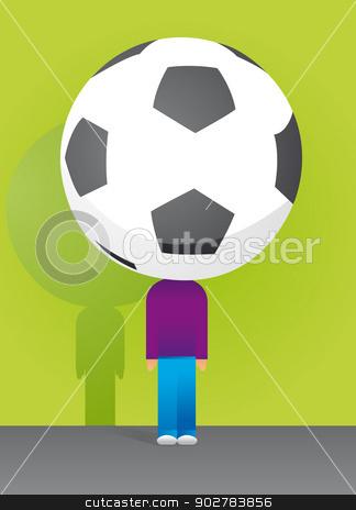 Soccer Big Fan / Fútbol stock vector clipart, Soccer Big Fan / Fútbol by Curvabezier
